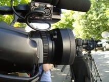 Videokamera Royaltyfri Fotografi