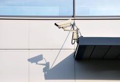 Videokamera und sein Schatten. Lizenzfreies Stockbild