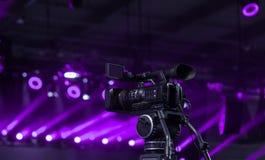 Videokamerainspelning på lekveckan royaltyfri foto