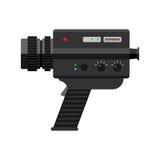 Videokameravektorillustration Lizenzfreies Stockbild