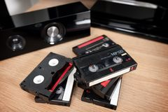 Videokassett arkivbild