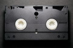 Videokassette VHSs TDK stockbild