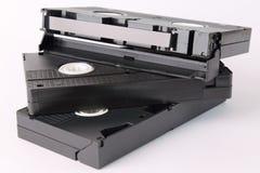Videokassetten Stockfotografie