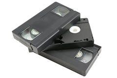 Videokassetter royaltyfria foton