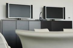 Videokonferenz-Raum Lizenzfreies Stockbild