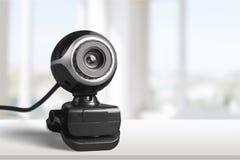 Videokonferenzkamera Lizenzfreies Stockfoto