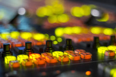 Videomixer Stock Foto
