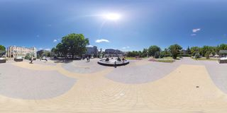 videomonument 360 aan minnaars stock video