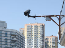 Videopn kontrollsystem (CCTV) Royaltyfria Bilder