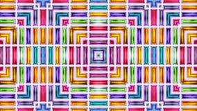 videopn sömlöst skimrar abstrakt skinande färgrik bakgrund 3D vektor illustrationer