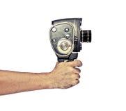 Videopn skytte för tappning Fotografering för Bildbyråer
