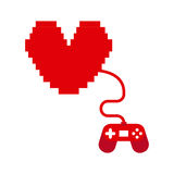 Videopp gamers Royaltyfri Bild