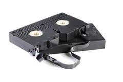 videopp kassettband Arkivbilder