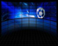 Videopp skärmar Arkivbilder