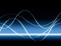 videopp waves Arkivbilder