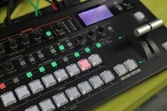 Videoproduktionsrangierlok benutzt für Liveereignisse lizenzfreies stockbild