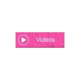 Videorechteckknopf Lizenzfreie Stockfotografie