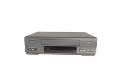 Videorecorder isolado no fundo branco Imagens de Stock