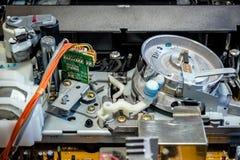 Videorekorder-Mechanismus Stockfoto