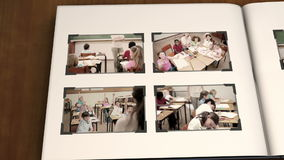 Videos of children at school Stock Photography