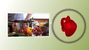 Videos of healthy food stock video