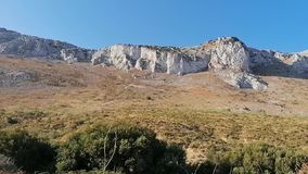 Videos with the mountains of Torcal Antequera province of Malaga Andalusia Spain. stock video