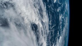 3 videos in1. Planet Earth seen from the ISS. Elements of this video furnished by NASA. stock video