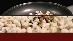 Videos of popcorn popping stock footage