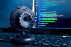 Videosorveglianza di web Fotografie Stock Libere da Diritti