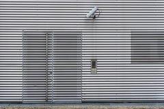 Videosorveglianza e sistema di sicurezza esteriori fotografie stock libere da diritti