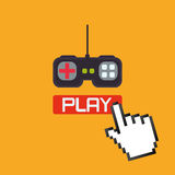 Videospeldesign Arkivbild