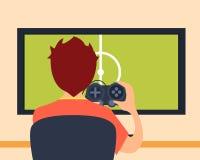 Videospelletje Royalty-vrije Stock Fotografie