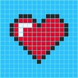 Videospelletjehart vector illustratie