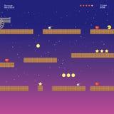 Videospelletjeplaats, arcadespelen royalty-vrije illustratie