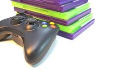 Videospelletjes royalty-vrije stock foto's
