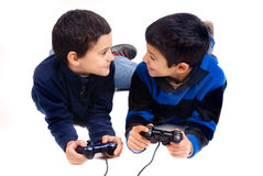 Videospelletjes Stock Fotografie