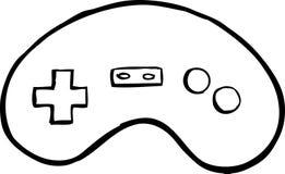 Videospiel-Controller stock abbildung