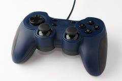 Videospiel-Prüfer auf weißem Hintergrund-Abschluss herauf Perspektive V Lizenzfreie Stockfotografie