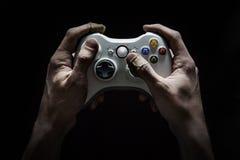 Videospiel-Sucht Lizenzfreies Stockfoto