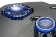 Videospielcontroller-Nahaufnahme Stockfoto