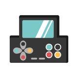 Videospielkonsole Portable Lizenzfreies Stockfoto