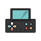 Videospielkonsole Portable Stockbild