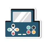 Videospielkonsole Portable Stockbilder