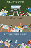 Videospielkonzept Stockfotos