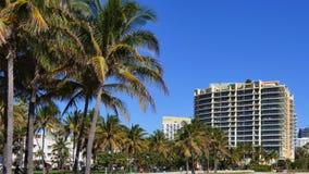 Videoszene des Miami Beachs 4k stock video footage