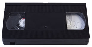 Videotape in bianco di VHS Fotografie Stock