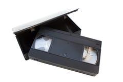 Videotape di VHS Immagine Stock