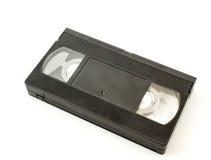 Videotape magnético preto velho com o filme Fotografia de Stock Royalty Free
