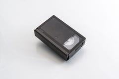 Videotape. VHS videocassette old sample on white background Stock Images
