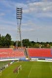 Videoton Football stadium. In Hungary, Szekesfehervar 2012 Royalty Free Stock Photography